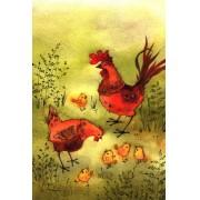 Жар птица почтовые открытки